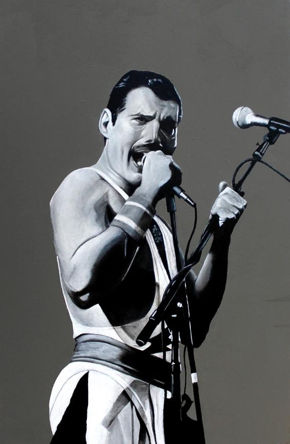 Freddie Mercury by Kaskad